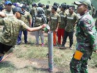 Yonzipur 10 Kostrad, Latih Para Staf Telkom Wilayah Usaha Telekomunikasi  Jatim Bagian Selatan dan Timur