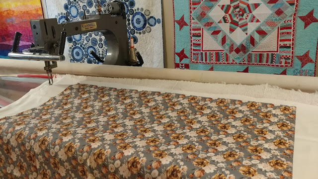 Quilting with minky on a longarm