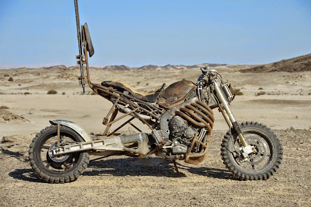 Motorcycle from Mad Max  9