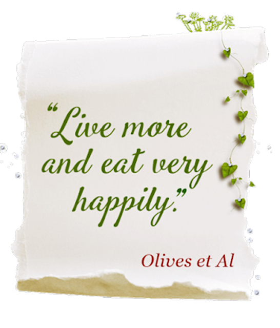 Live more and eat very happily.