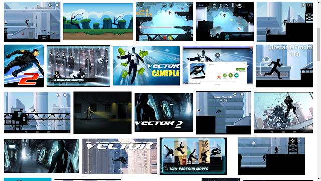 """Vector: game yang hanya menampilkan sebuah """"bayangan"""", namun tetap seru di mainkan"""