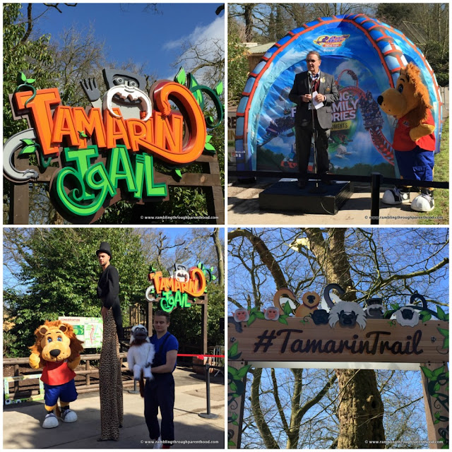 The Tamarin Trail at Drayton Manor