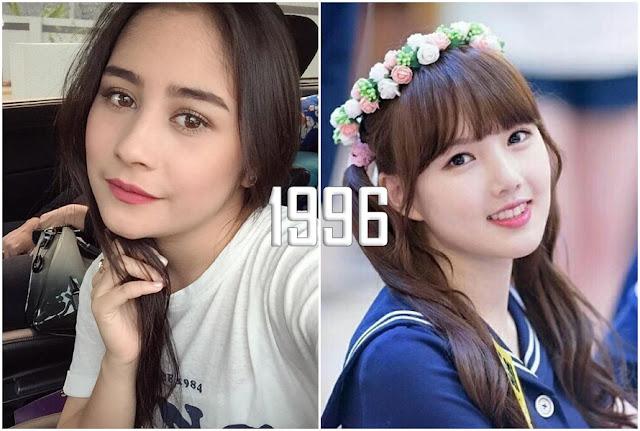 Beda gaya makeup, 8 seleb Indonesia & Korea ini sebenarnya seumuran