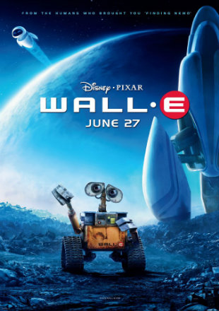 WALL-E 2008 Dual Audio BRRip 720p Hindi English