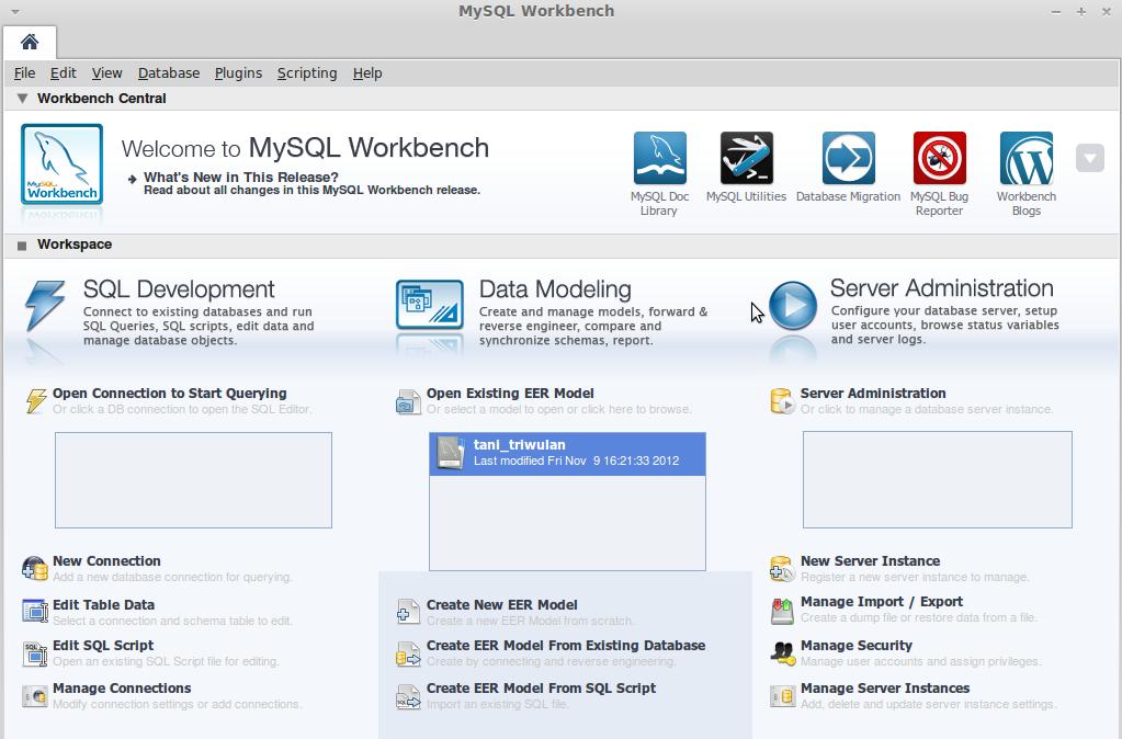 SYAMS-Info: How to install MySQL Workbench on Ubuntu