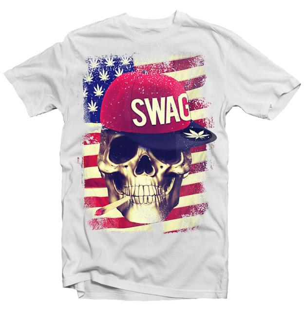 swag skull flag