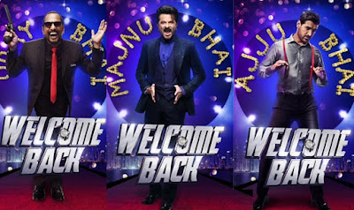 Welcome Back 2015 Hindi WEB HDRip 480p 400mb bollywood movie Welcome Back 300mb hd compressed small size free download at https://world4ufree.ws