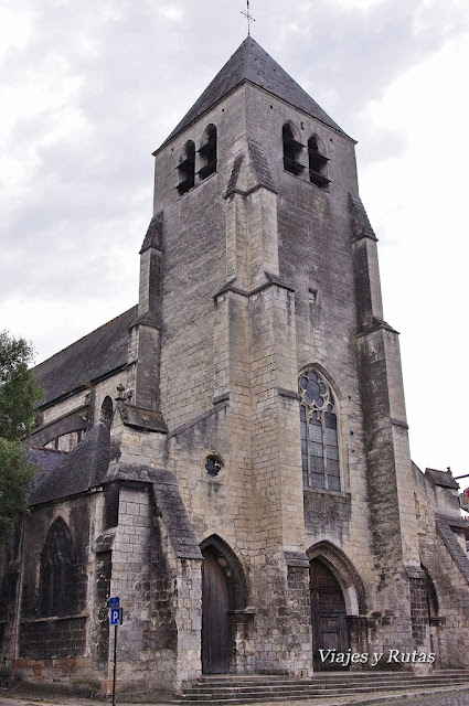 La Iglesia de Saint Pierre le Guillard, Bourges