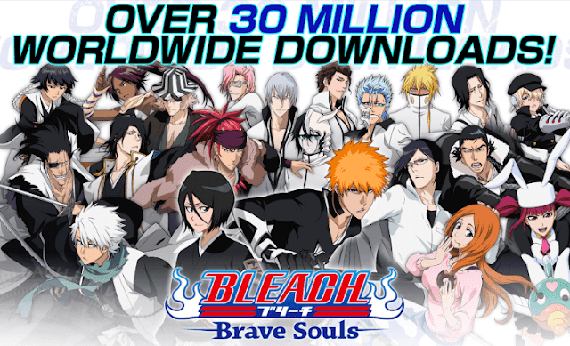 تحميل لعبة BLEACH Brave Souls اخر اصدار للاندرويد
