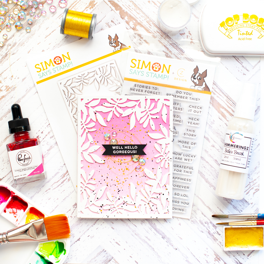 Simon Says Stamp Friendly Frolic Blog Hop Lea Lawson Creates