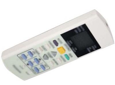 Ilustrasi remote control AC rumah