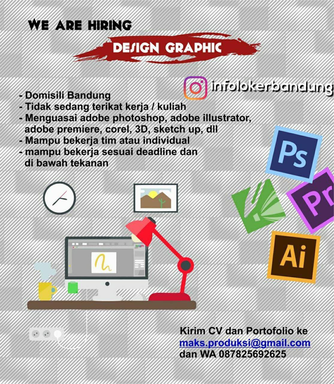 Lowongan Kerja Design Graphic MAKS.Co Event Organizer Bandung Desember 2017