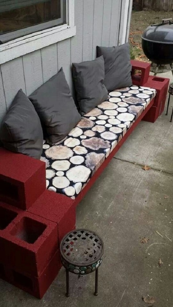 Concrete blocks for exterior decorating | lasthomedecor.com 9