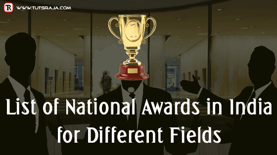 List of National Awards