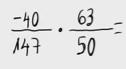 23.   Multiplicación de números racionales