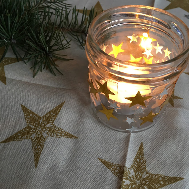 jak vyrobit svícen, vánoční svícen