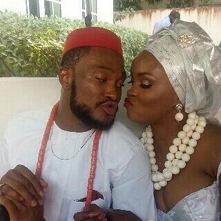 Blossom Chukwujekwu and wife