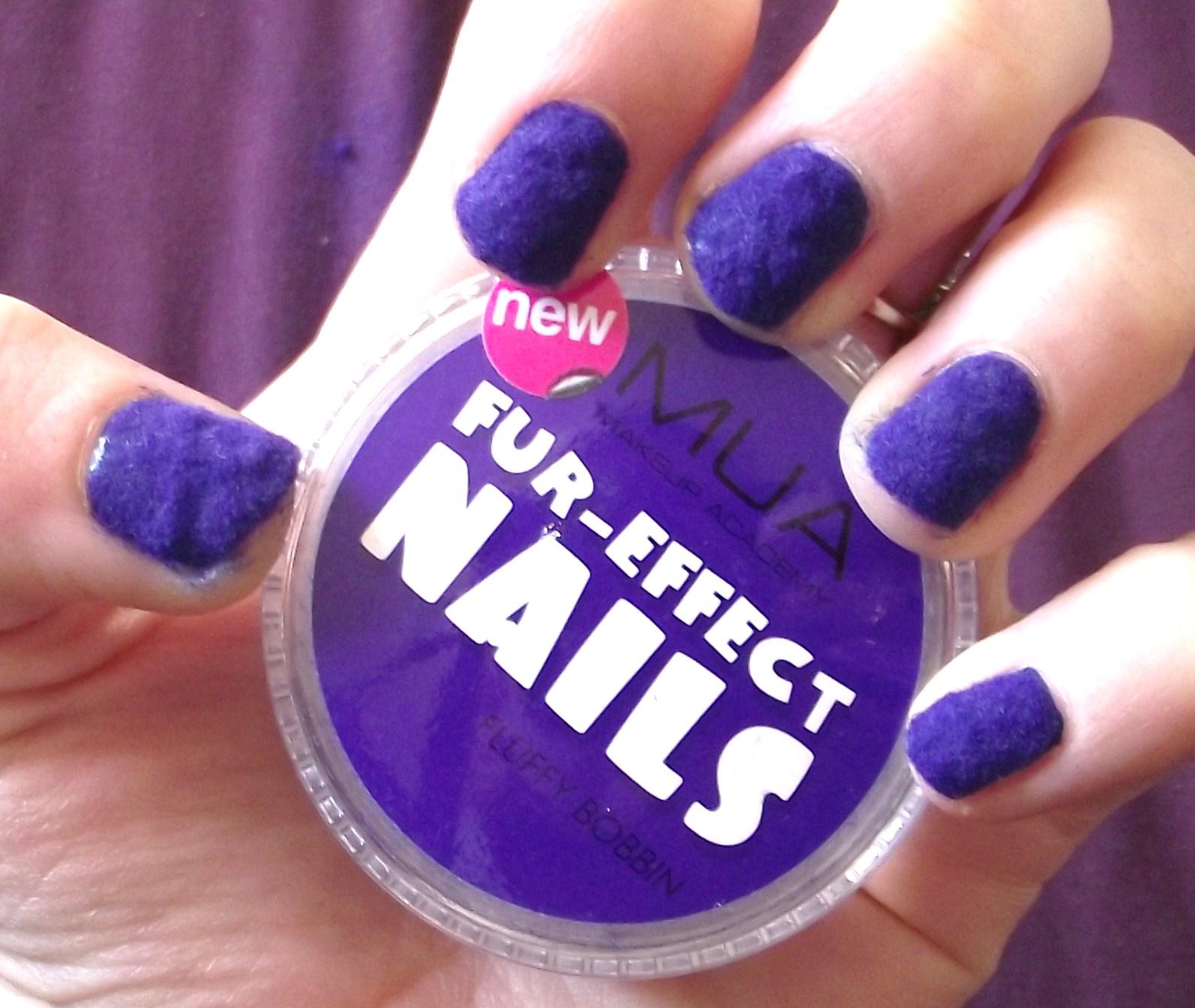Mua Fur Effect Nails Review And Tutorial Flurry Bobbin