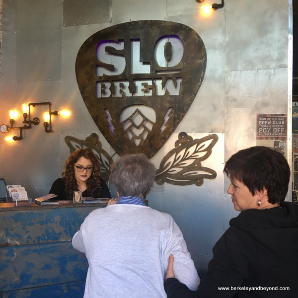 check-in at The Brew at SLO Brew in San Luis Obispo, California
