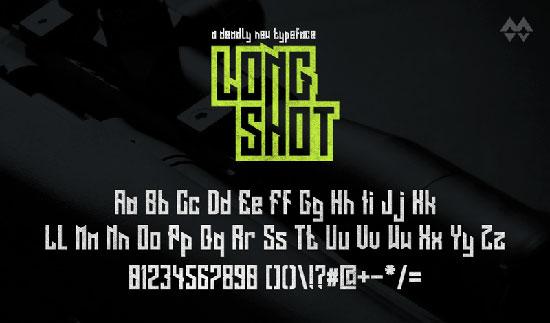 font, günün fontu, font indir, long shot font indir, bedava font indir, ücretsiz font indir, kaliteli font indir,