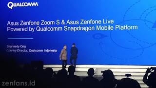 Zenfone Zoom S menggunakan prosessor S625