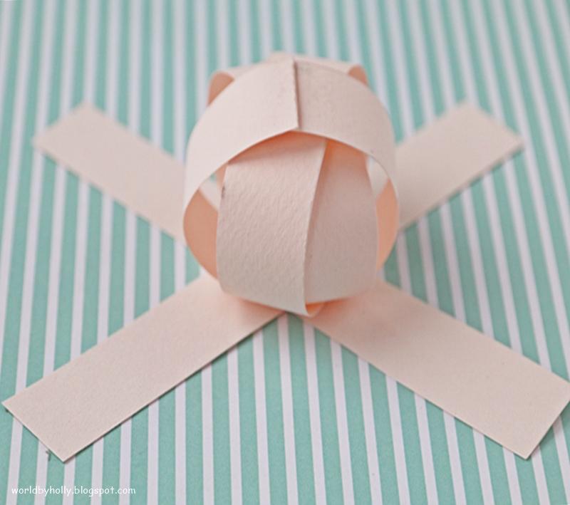 dynia z papieru DIY