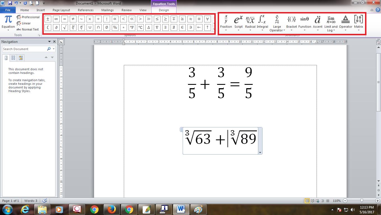 Tutorial Cara Menulis Rumus Matematika Di Microsoft Word Bang Ontak