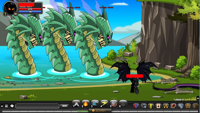 Hydra Head AQW Coordinates