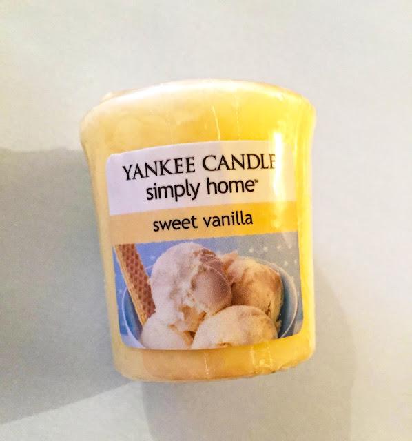 yankee candle sweet vanilla