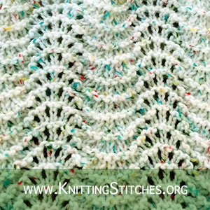 Old Shale Stitch pattern | Knitting Stitch Patterns