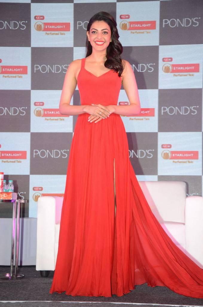 Kajal Aggarwal In Red Dress