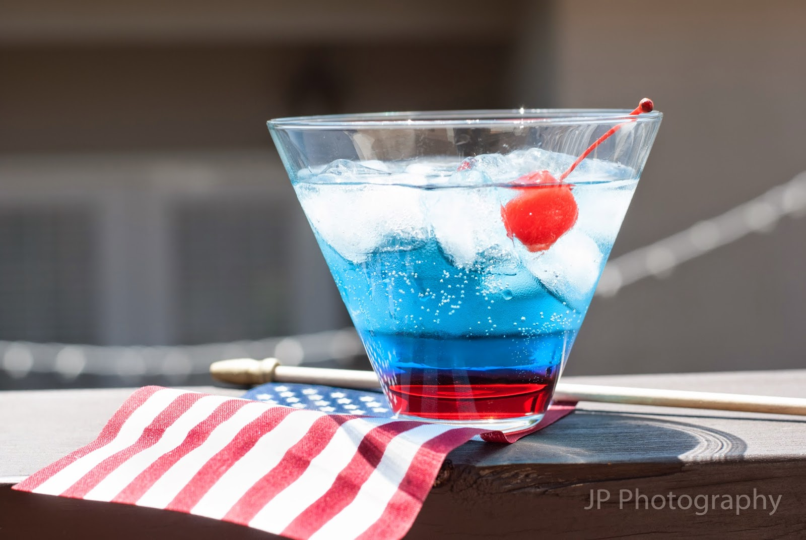 The Patriotic Celebration is a great cocktail for The 4th Of July.