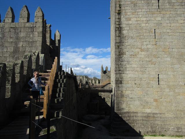 O Castelo  de Guimarães
