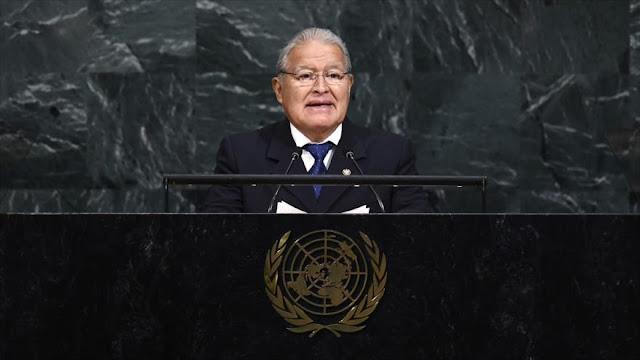 El Salvador pide desde la ONU fin de bloqueo anticubano de EEUU