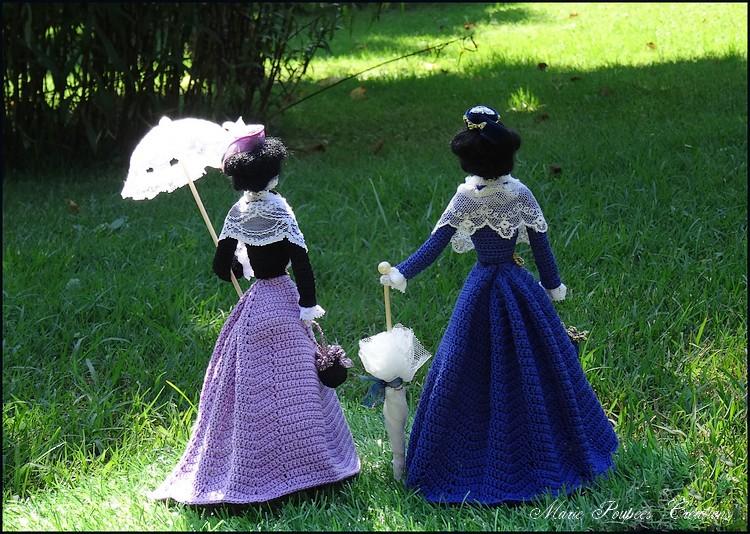 Arlésienne poupées de collection