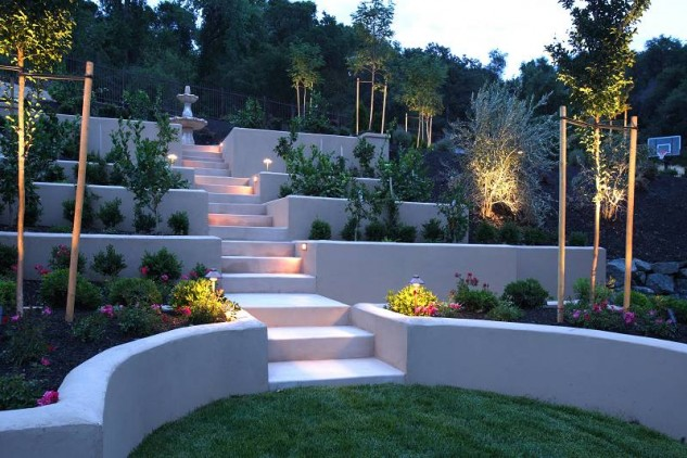 25 Awesome Sloped Backyard Design Ideas