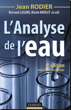 Livre : L'analyse de l'eau - Jean Rodier PDF