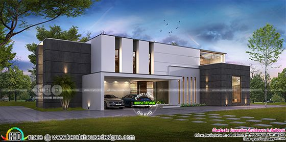 Proposed house in Victoria, Australia, designed in Kerala