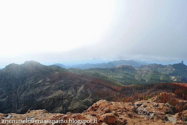 maisemat, retki, vuoristo, vuokra-auto, pico de las nieves, näkymä, nähtävyys
