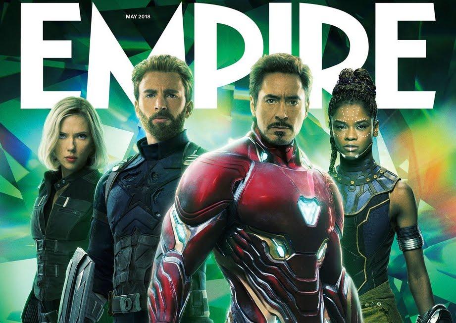 Cinema: gli Avengers di Infinity War protagonisti nelle copertine di Empire