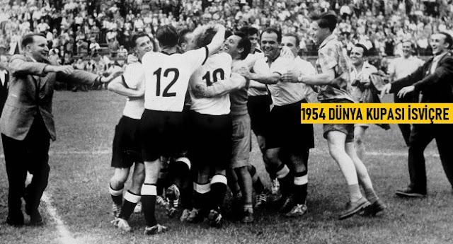 Dünya Kupası'nın Geçmişten Günümüze Kadar Olan Tarihçesi 1954 İsviçre - Kurgu Gücü