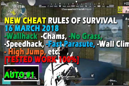 Cheat Rules of Survival Serin 2.0 Update 16 maret 2018 !