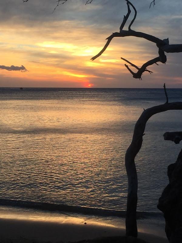 Waialea Beach sunset Hawaii