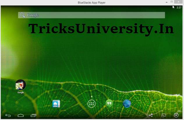 DOWNLOAD BLUESTACKS FOR WINDOWS PC [2016][ Rooted ] [ OFFLINE ][ Moded ] TricksUniversity.in