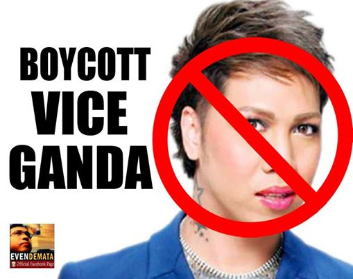 Boycott Vice Ganda Campaign by Netizens Launches