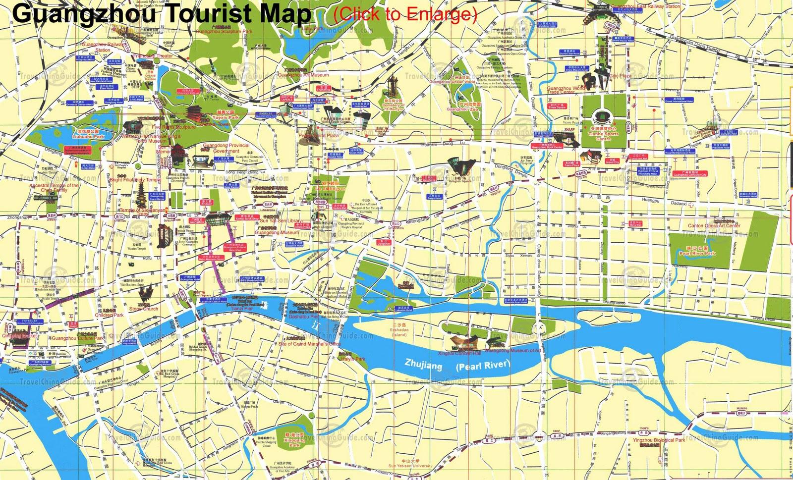 Kuala Lumpur Travel Guide Map
