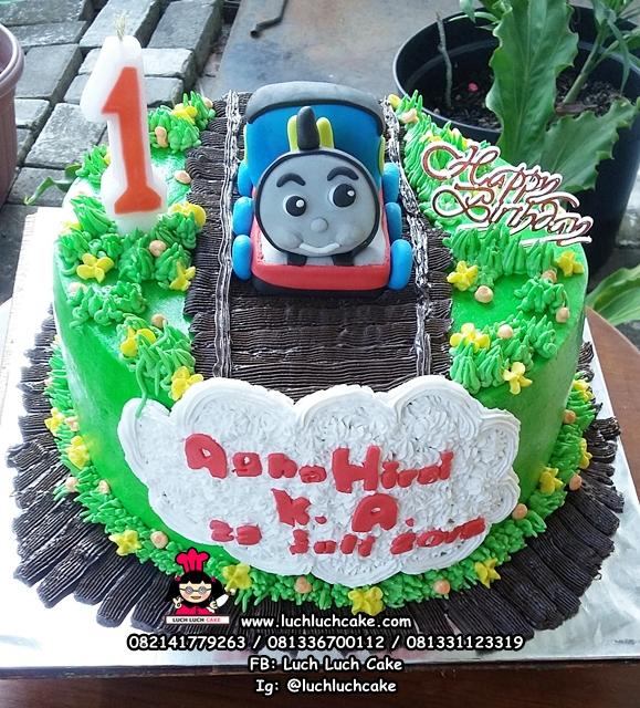 Kue Tart Ulang Tahun Kereta Thomas