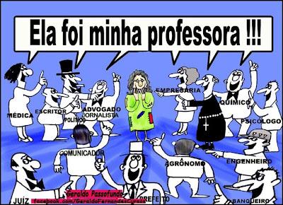 Resultado de imagem para formação de professor charge