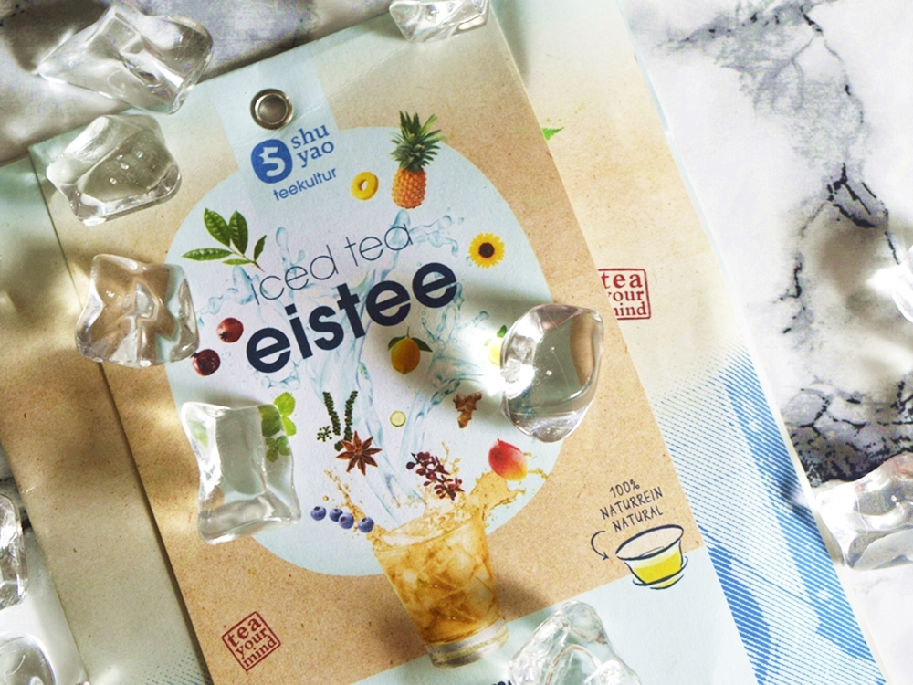 Products of the TrendBox / TrendRaider June 2016 'WaterPassion' / Ice Tea