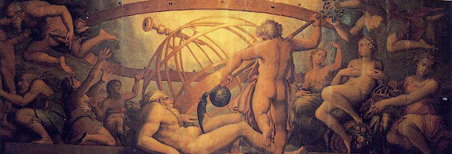 The Mutiliation of Uranus by Saturn, de Giorgio Vasari